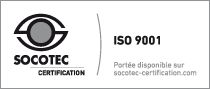 Certification SOCOTEC - ISO 9001